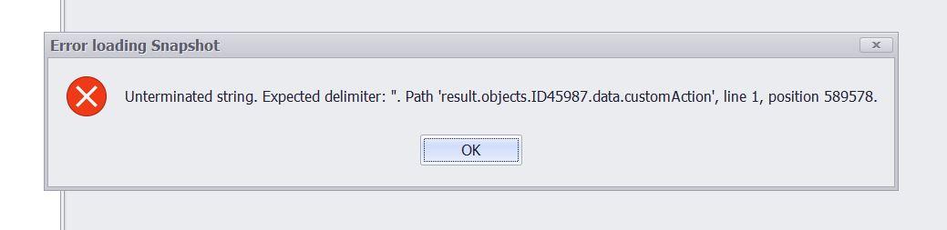 bleibt bei Lade Snapshot vom Server hängen_Meldung.JPG