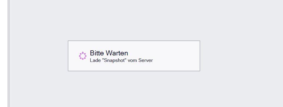 bleibt bei Lade Snapshot vom Server hängen.JPG