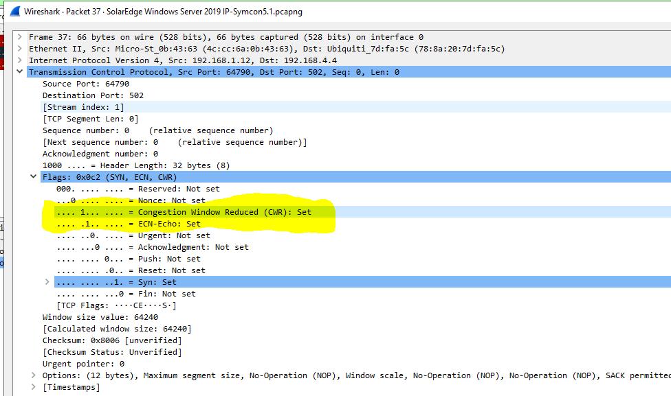 SolarEdge Windows Server 2019 IP-Symcon 5.1 - Flags [SYN, ECN, CWR].PNG